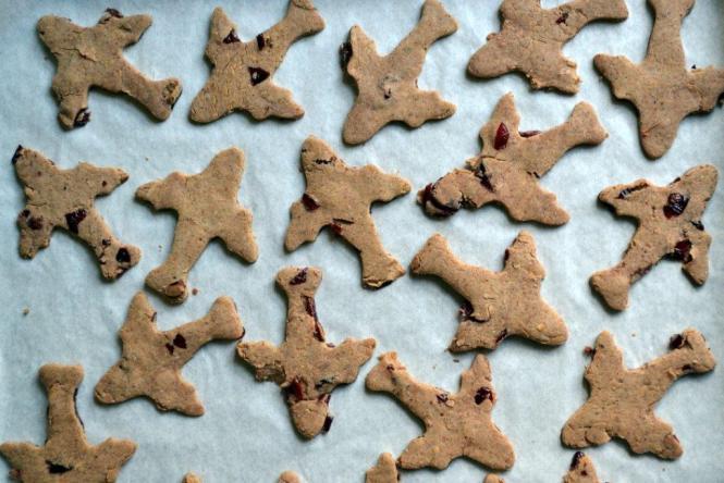 Миндальное печенье с клюквой (2)