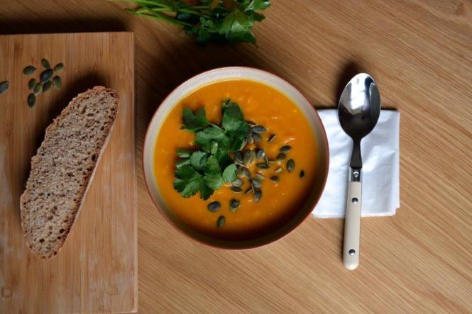 Тыквенный суп с апельсином (1)