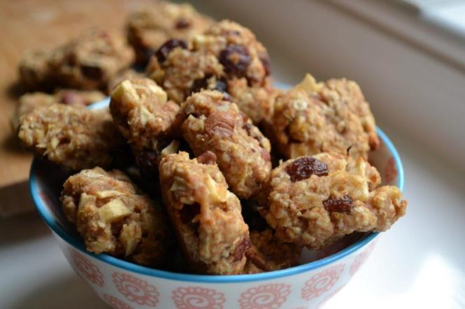Яблочное печенье с овсяными хлопьями (2)