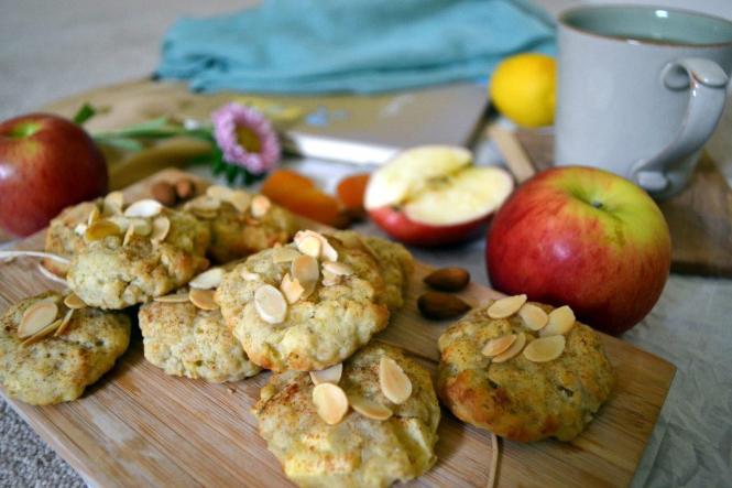 Яблочное печенье с миндальными хлопьями (1)
