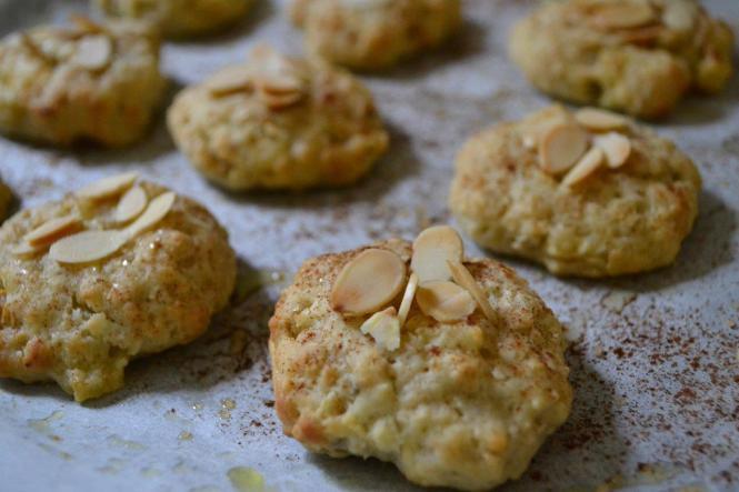 Яблочное печенье с миндальными хлопьями (2)